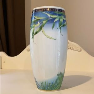 """Versace """"Jungle"""" Vase for Rosenthal.  Authentic"""
